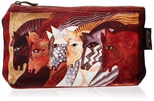 Laurel Burch Horses - Laurel Burch Cosmetic Bag, Moroccan Mares, Set of 3