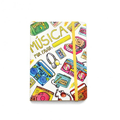 Read Online Music Please Sewn Pocket Notebook - Ruled pages ebook