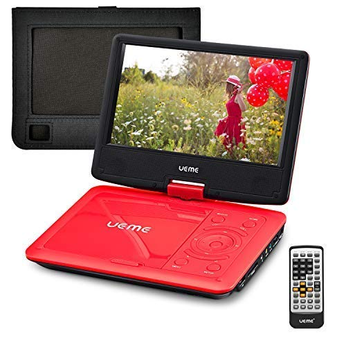 UEME Portable DVD CD Player with...