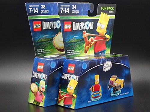 krusty the clown lego dimensions instructions
