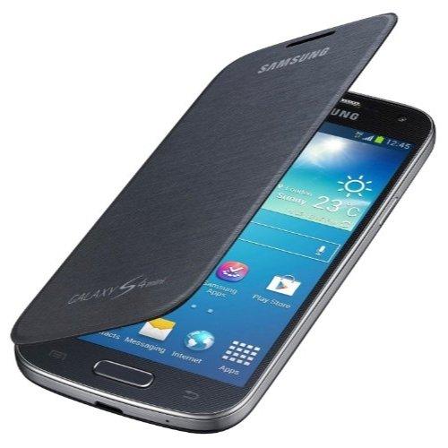 Samsung Galaxy S4 Mini Flip Cover - Black