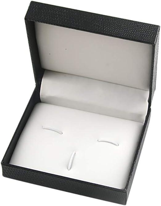 Kentop Estuche de joyería de Plástico para Gemelos Caja Joyero ...