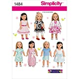 Simplicity 1484 Doll Clothes Sewing Patterns for