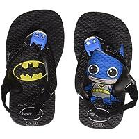 Sapatos Baby Heróis, Havaianas, Preto, 20
