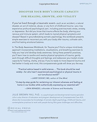 The Body Awareness Workbook for Trauma: Release Trauma from ...