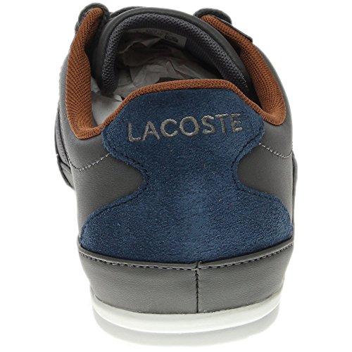 Lacoste Mens Misano Idrott 317 En Sneaker Mörkgrå