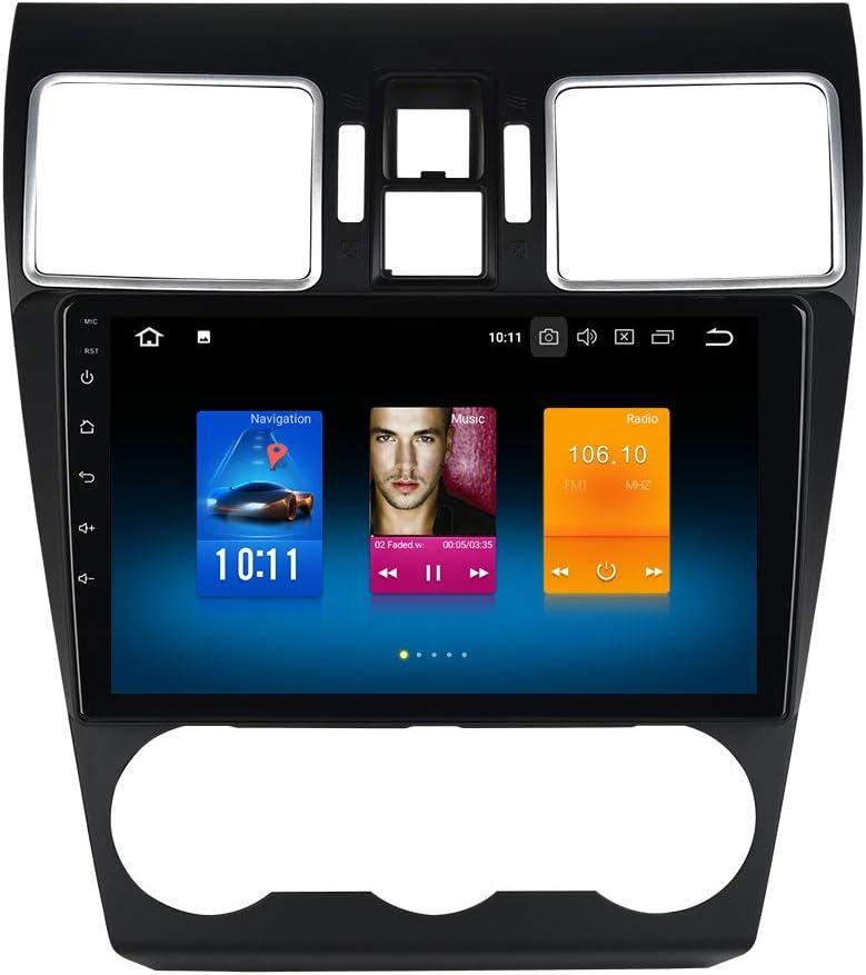 "Dasaita 9"" 1 DIN Android 10.0 Car GPS Player Navigation for Subaru WRX 2016 2017 2018 Head Unit with Octa Core 4GB Ram 32GB ROM Auto Radio WiFi Car Stereo"