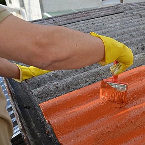 Fabulous € 11,58/kg) 1K Flüssigkunststoff Dachsanierung, Dachfarbe HN57