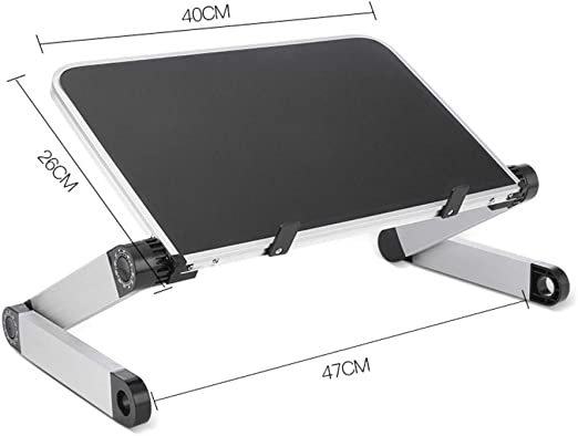 DULPLAY Portátil Antideslizante Soporte para Laptop, Desmontable ...