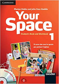 Your Space Level 1 Student's Book and Workbook with Audio CD, Companion Book with Audio CD, Active Digital Book Ital Ed