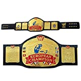 WWF European Champion Belt World Wrestling Heavyweight Replica Belts Adult