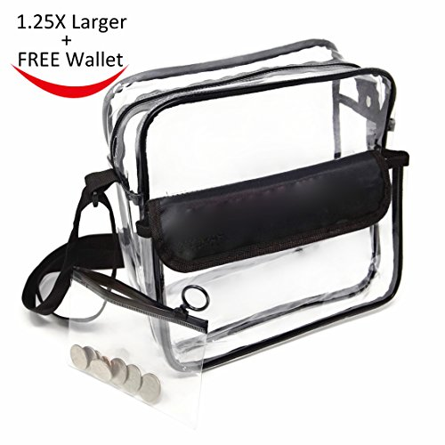 Heavy Duty Clear Plastic Tote Bags - 4