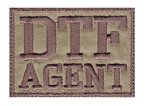 DTF Agent ATF FBI DEA Parody Funny Tactical Morale Hook Side Patch