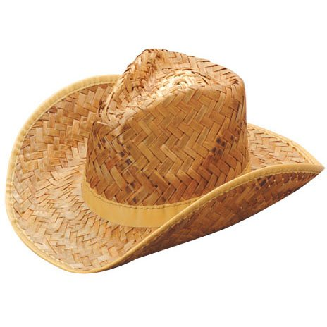 Tan W (Straw Cowboy Hats)