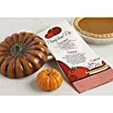 9 Inch Decorative Pie Plate Pumpkin