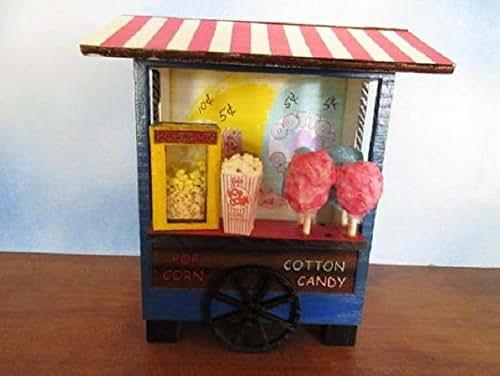 Gnome Garden: Amazon.com: Fairy Garden Miniature Carnival Popcorn Cotton