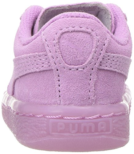 PUMA Kids Suede Iced Sneaker,Smoky Grape,10 M US Toddler