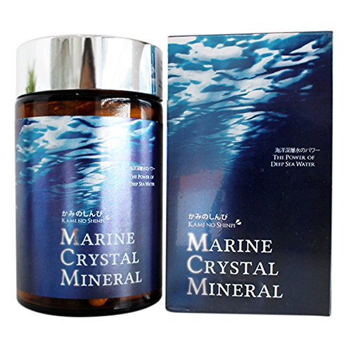 Marine Crystal Mineral Kami No Shinpi - 120 capsules by Mirako