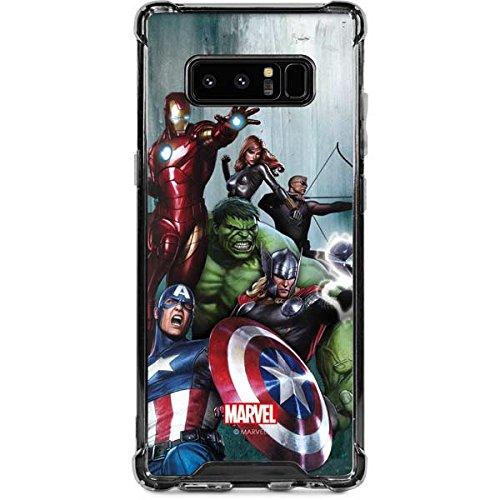 new concept bfd95 7e3fa Amazon.com: Skinit Avengers Assemble Galaxy Note 8 Clear Case ...