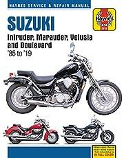 Suzuki Intruder, Marauder, Volusia and Boulevard Haynes Service & Repair Manual: 1985 to 2019