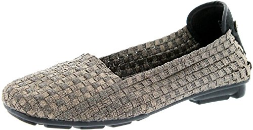 Bernie Mev Womens Demure Slip-On Shoe Bronze Size 39 EU (8 M US Women)