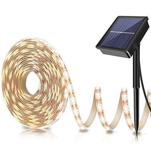 Outdoor Solar Led Strip Lighting in US - 9