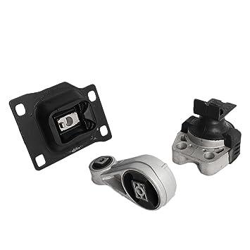 Motor y soporte de Trans Set para Fits 2005 - 2007 Ford Focus L A5312 a2939 A2986, juego de 3 pcs: Amazon.es: Coche y moto