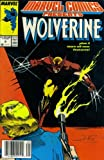 img - for Marvel Comics Presents #9 : Wolverine, Man-Thing, Cloak, & El Aguila (Marvel Comic Book 1988) book / textbook / text book