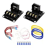 Bluewo 3D Printer Heat Bed Power Module SIMPZIA General Add-on Hot Bed Mosfet MOS Tube High Current Load Module for 3D Printer Hot Bed/Hot End(2 Pack)