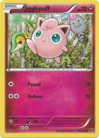 Pokemon - Jigglypuff (65/124) - XY Fates Collide