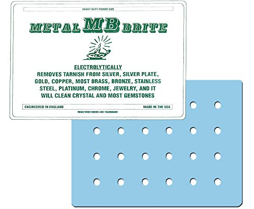 """Metal Brite Electrolytic Precious Metal and Jewelry Cleaner (8"""" X 10"""")"""