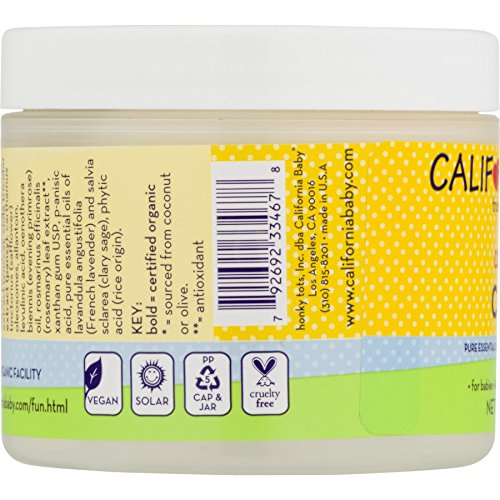 California Baby Calendula Cream - 4 oz - 2 pk by California Baby (Image #3)