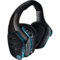 Logitech G933 Artemis Spectrum Auriculares Gaming Inalámbricos, DTS Headphone:X 7.1 Surround, Transductores 40mm Pro-G, 3.5 mm Jack, Lightsync RGB, Teclas G, PC/Mac/Xbox One/PS4/Nintendo Switch
