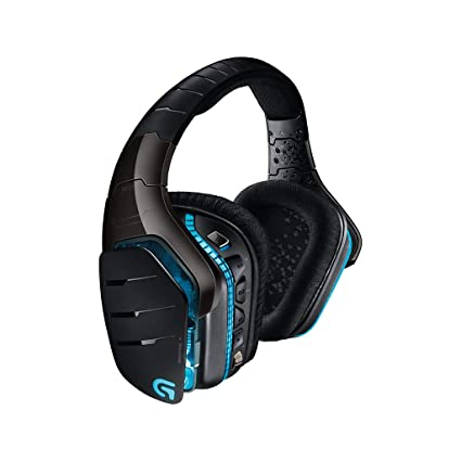 Logitech G933 Artemis Spectrum RGB 7 1 Surround Sound Gaming Headset,  Wireless Headphones and Microphone