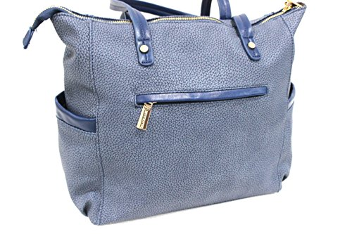 Borsa donna Naj Oleari l.Boba mod.shopping a spalla 61406 grigio