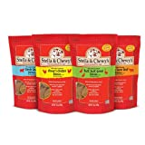 Pack of 4, 15 OZ, Beef, Chicken, Duck and Lamb Variety Pack Food for Dogs