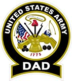Chiam-Mart 1 Pc Enormous Unique United States Army Dad 1775 This We'll Defend Sticker Signs Home Bumper Bike Patches Decals Window Graphics Racing Kids Automotive Decor Truck Car Decal Size 4.5''x5''