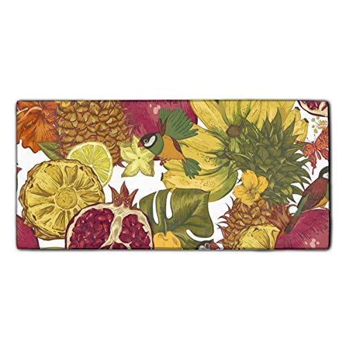 Fruits Banquet Beach and Bath Towel Natural Printed Towel Multi-purpose for Gym Yoga Camping Travel 11.8 x 27.5 Inches