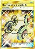 Bodybuilding Dumbbells - 161/147 - Secret Rare - Sun & Moon: Burning Shadows