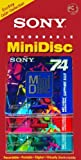 Sony 74-Minute Color Mini-disc in A Clamshell 3-Pack