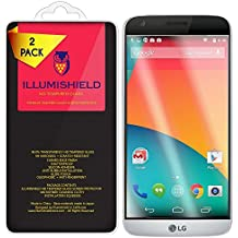 iLLumiShield HD Tempered Glass [2-Pack] - LG G5 Screen Protector + Lifetime Warranty / 99.9% Ultra Clear 9H Hardness + .33 mm Ultra-Thin / Anti-Fingerprint Coating and Bubble Free