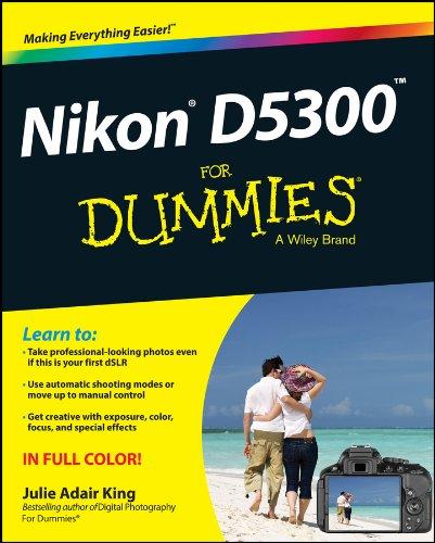 Nikon D5300 For Dummies PDF