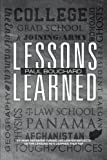 Lessons Learned, Paul Bouchard, 1475937350