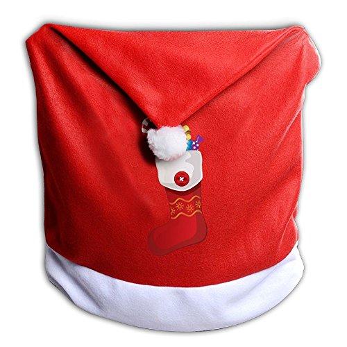 Christmas Cute Back Covers For Christmas Dinner Seats Decor 1 Pcs Per Set 50x60CM ()