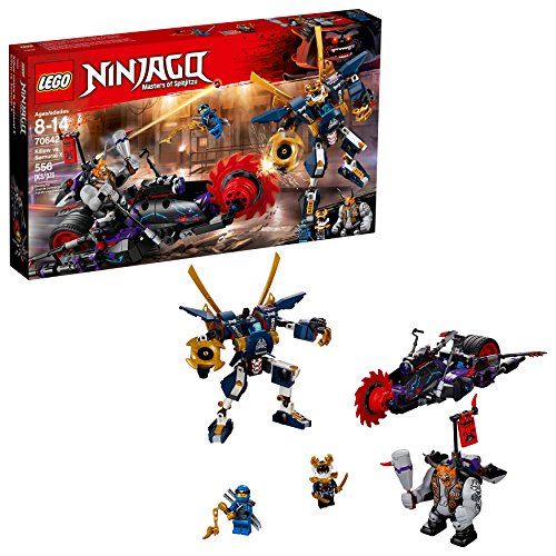 LEGO NINJAGO Killow vs. Samurai X 70642 Building Kit (556 Piece) -