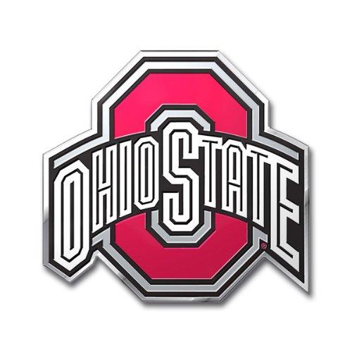 NCAA Ohio State University Buckeyes Die Cut Color Auto Emblem