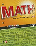Glencoe Math Course 2, Student Edition, Volume 1, McGraw-Hill, Glencoe, 0076615294