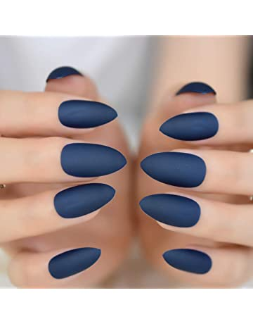 Official Website 20 False Nails Full Cover Oval Tips Cute Bride Heart Red Artificial Nail Tips Nail Care, Manicure & Pedicure