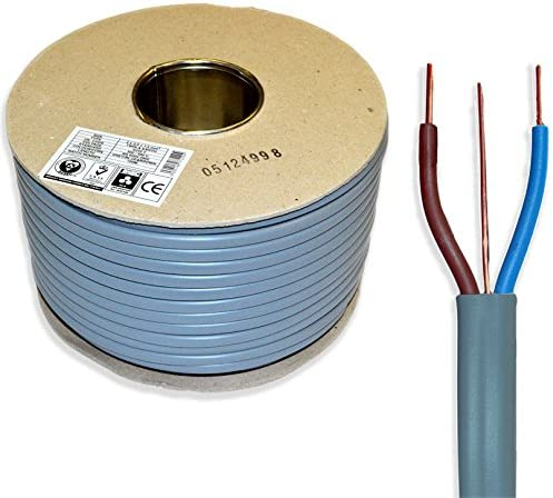 1mm Twin and Earth Electrical Cable 25M 6242Y BASEC Approved Harmonised BS6004