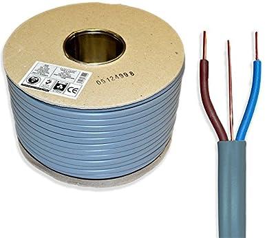 1,5 mm Twin und Erde 6242Y Elektrisches Kabel 50 m, zugelassen ...
